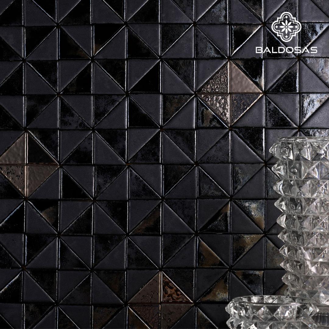 Driehoek tegels