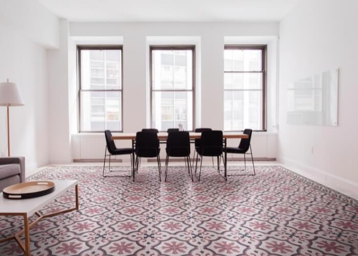 Victoriaanse tegels vloertegels roze