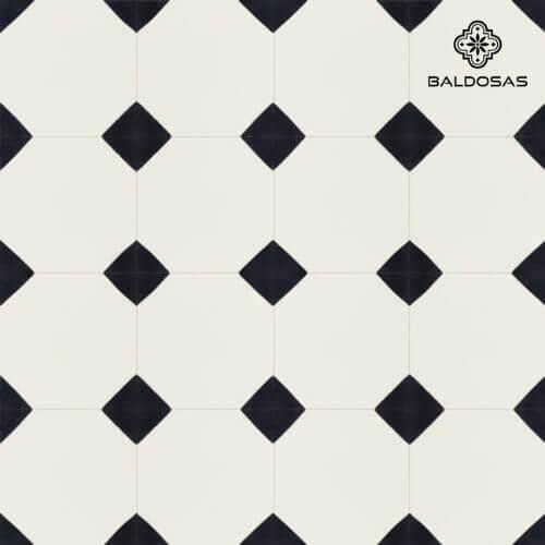 patroon tegels portugees wit zwart