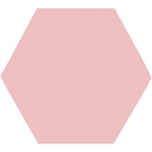 603c Hexagon roze