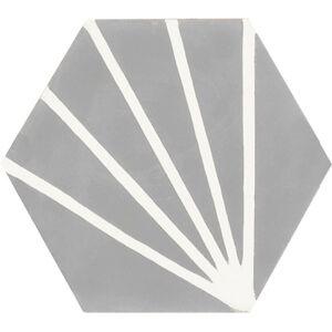 604a Spaanse tegel Hexagon (zeshoek)