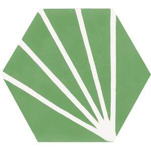 Spaanse cementtegel Hexagon 604b