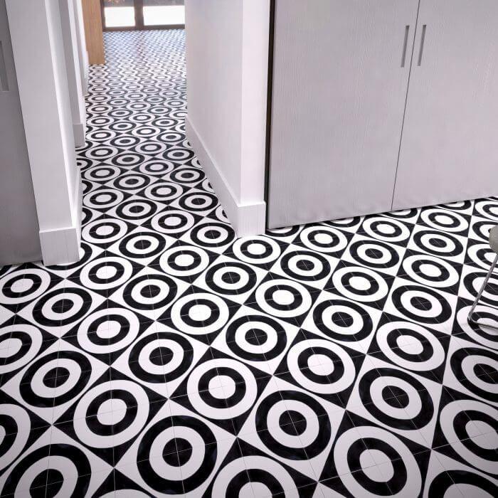 135a Spaanse cementtegel design