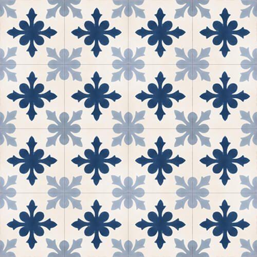 139 Spaanse patroontegel bloem