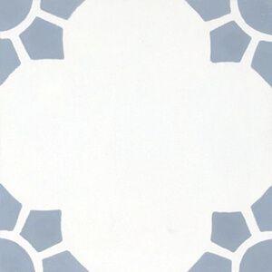 144 Spaanse patroontegel bloemvormig