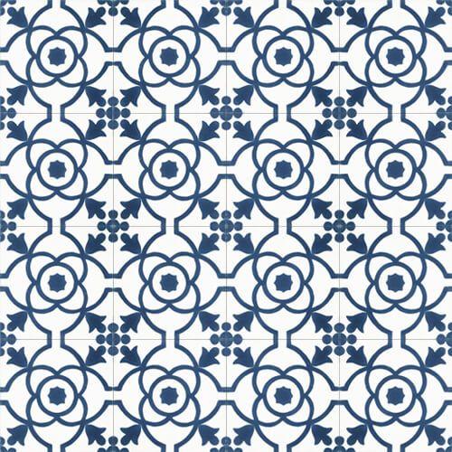 181 Spaanse patroontegel bloem modern