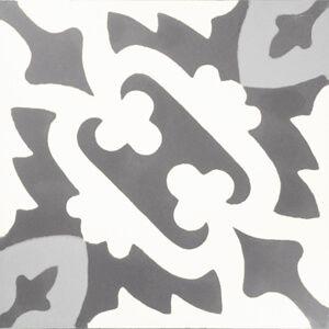 207 Spaanse tegels grijs wit