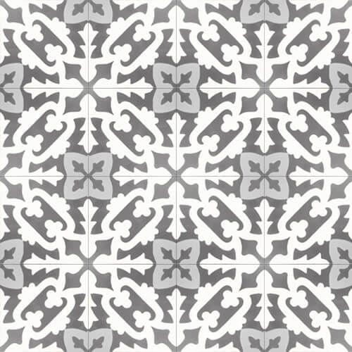 207 handgemaakte Spaanse cementtegels