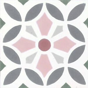 211 Spaanse tegeltjes bloempatroon