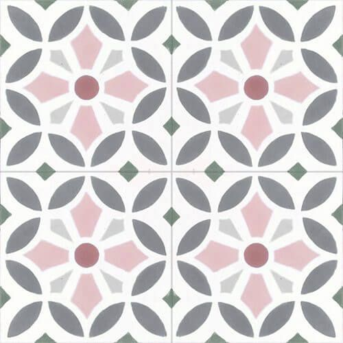 211 Spaanse cementtegels pastelkleuren