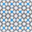246b Spaanse en Portugese tegels bloem motief