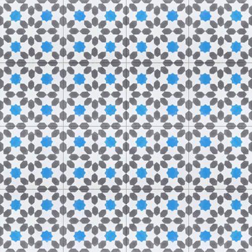 246b patroontegels bloemmotief