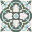 252 Spaanse tegeltjes motieftegel bloem