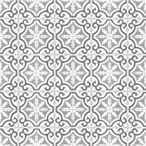 257b cementtegels grijs wit