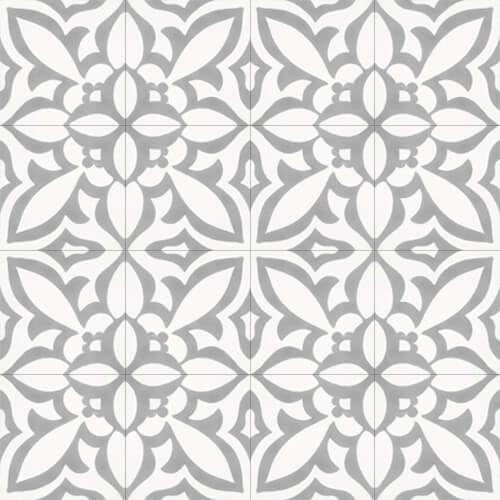 288 Spaanse en Portugese patroontegels grote bloem