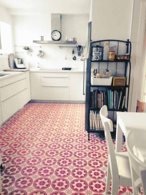 Spaanse tegels retro design klassiek