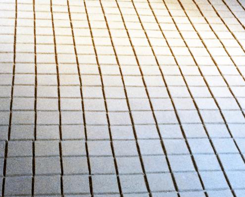 Handgemaakte klei tegels