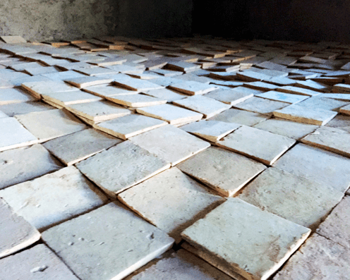 productie Marokkaanse tegels