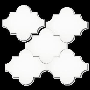 Lantaarn tegels wit