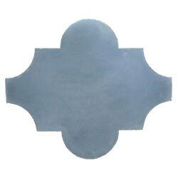 lantaarn tegel vintage blauw
