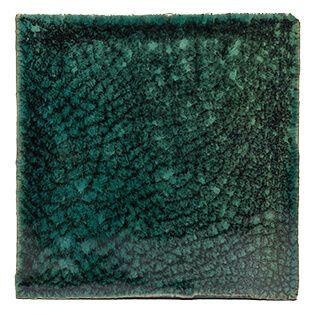 craquelé tegels groen