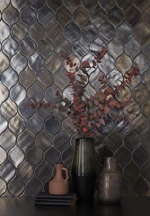 Marokkaanse tegel druppel vorm