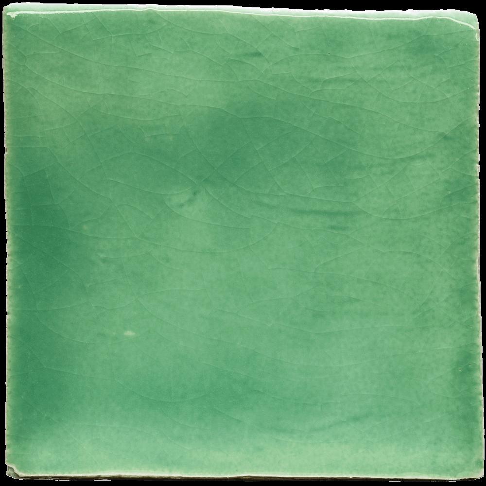 geglazuurde tegel mint groen