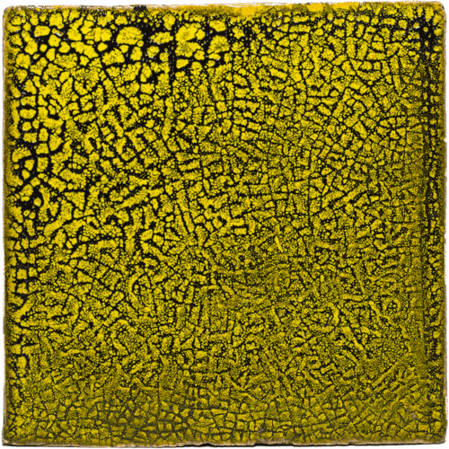 Gevlamde tegels geel
