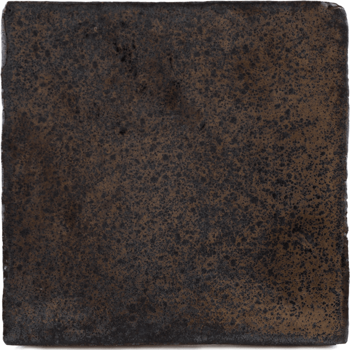 Bronze tegels roest