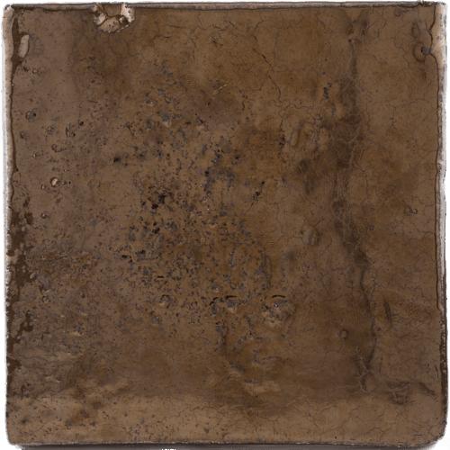 Goud bronzen tegel druppel