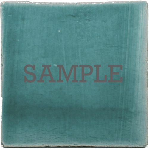 Sample turquoise tegel