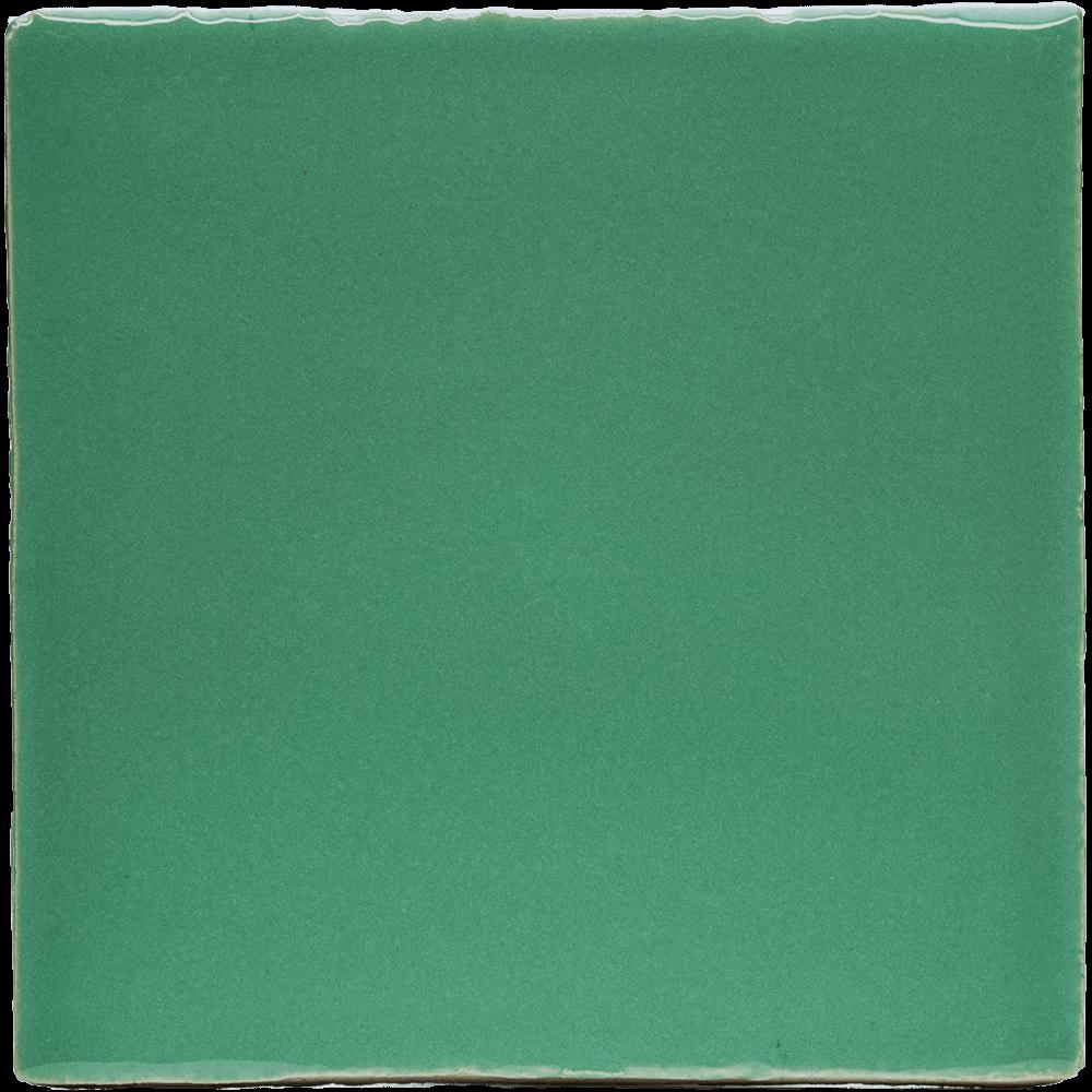 Geglazuurde tegel groen
