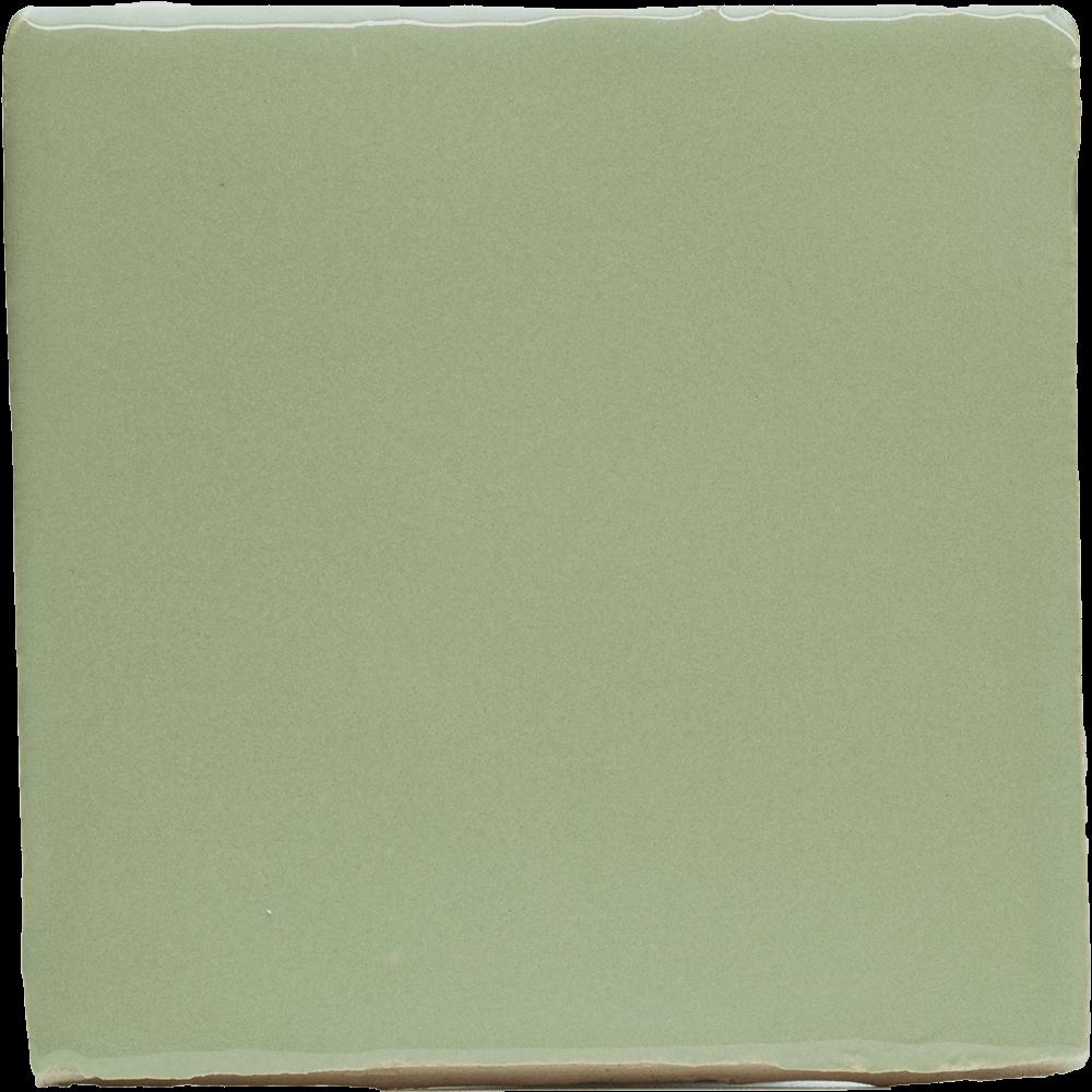 Tegel pastel groen