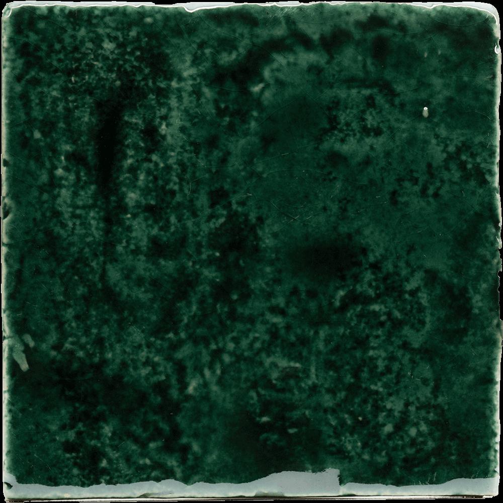 Tegel metallic groen