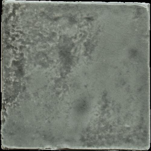 Handmade tile dark grey