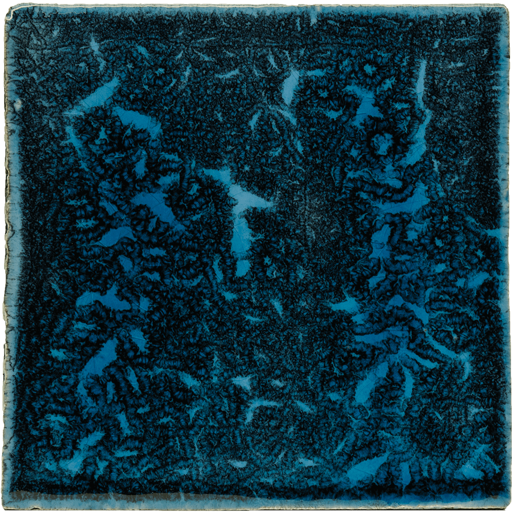blauw Gaudi tegel