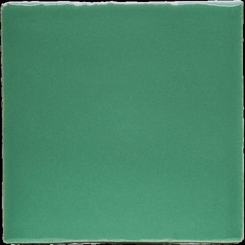 groene tegels geglazuurd