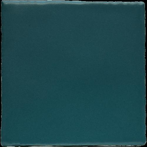 blauwe matte tegel