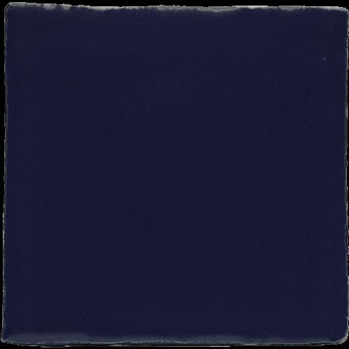 zwarte blauwe tegel