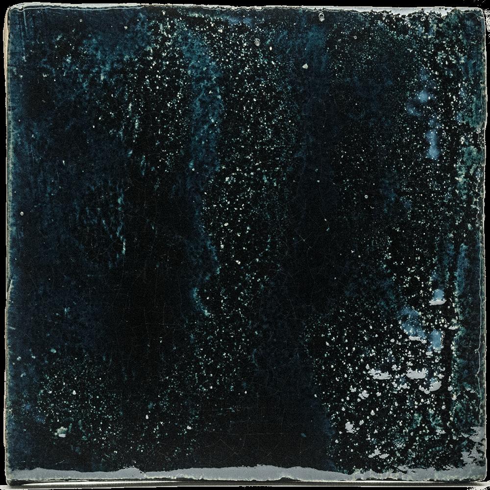 blauwe petroleum tegel