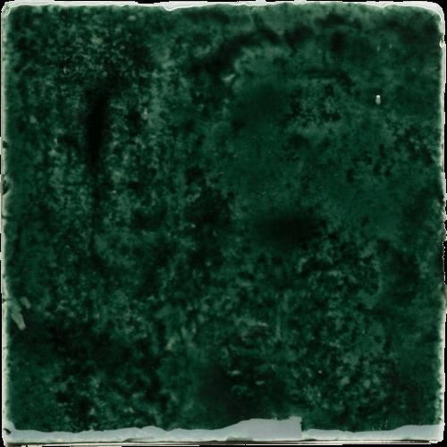 groene metallic tegels