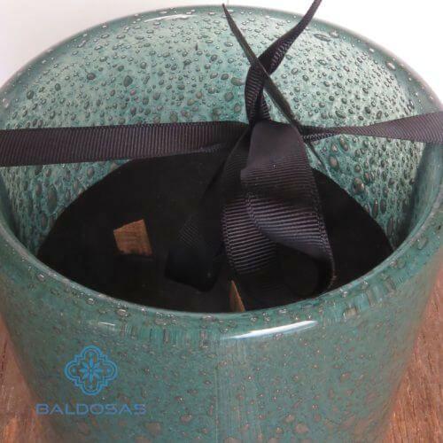 Geurkaars turquoise