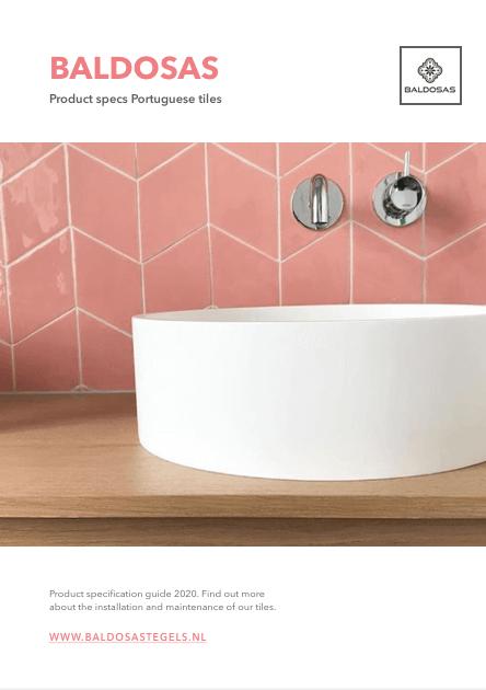 product specs Portuguese tiles