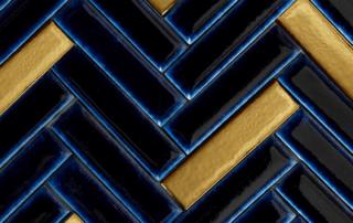Visgraat goud